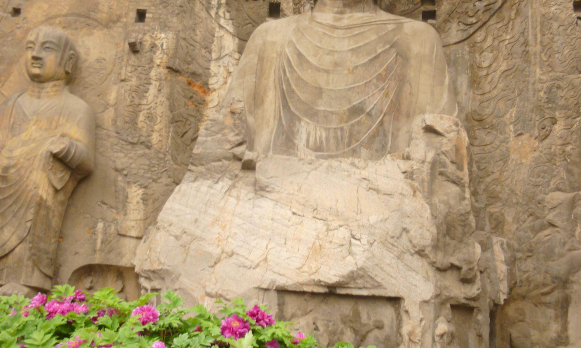 Longmen détail Luoyang